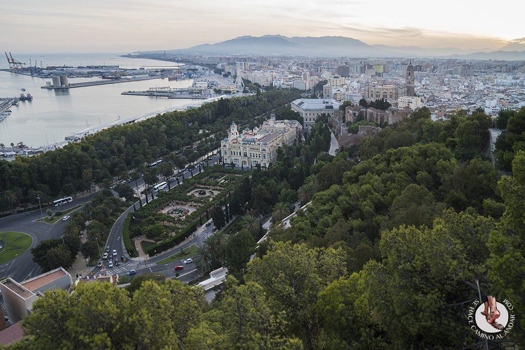Miradores de Málaga Mirador de Gibralfaro Manquita