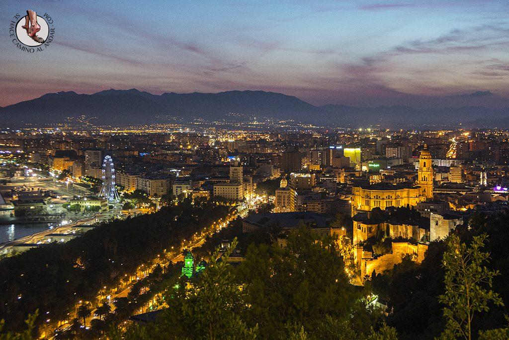 Miradores de Málaga Parador Gibralfaro