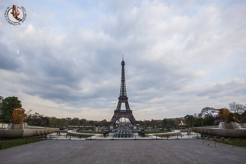 Miradores de Paris Jardines Trocadero