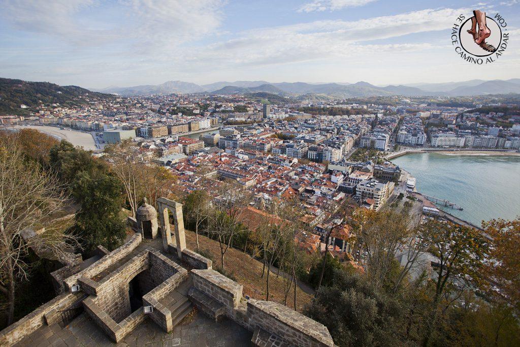Miradores de San Sebastián Castillo de la Mota Urgull