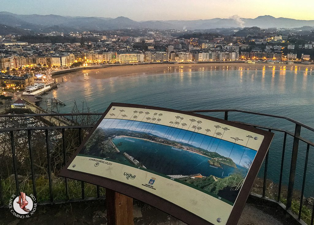 Miradores de San Sebastián Vistas Mirador Santiago