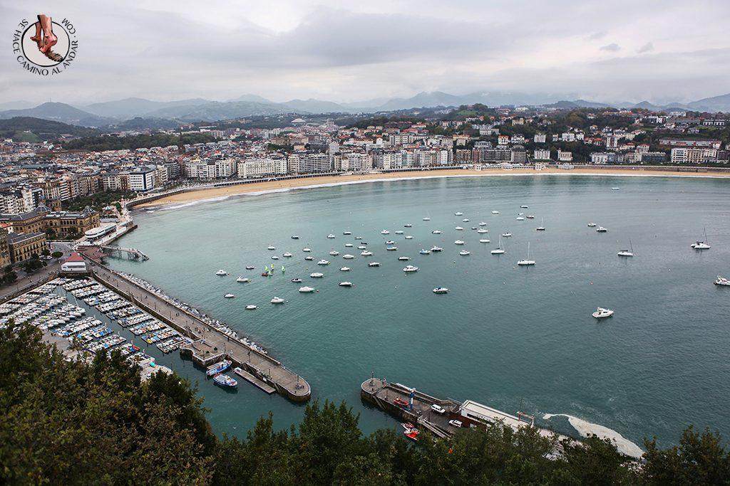 Miradores de San Sebastián - Paseo Batería de las damas