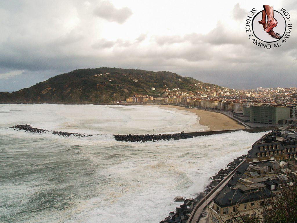 Miradores para ver olas gigantes San Sebastián