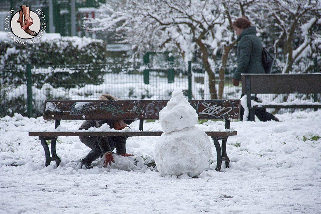 Muneco nieve Amara