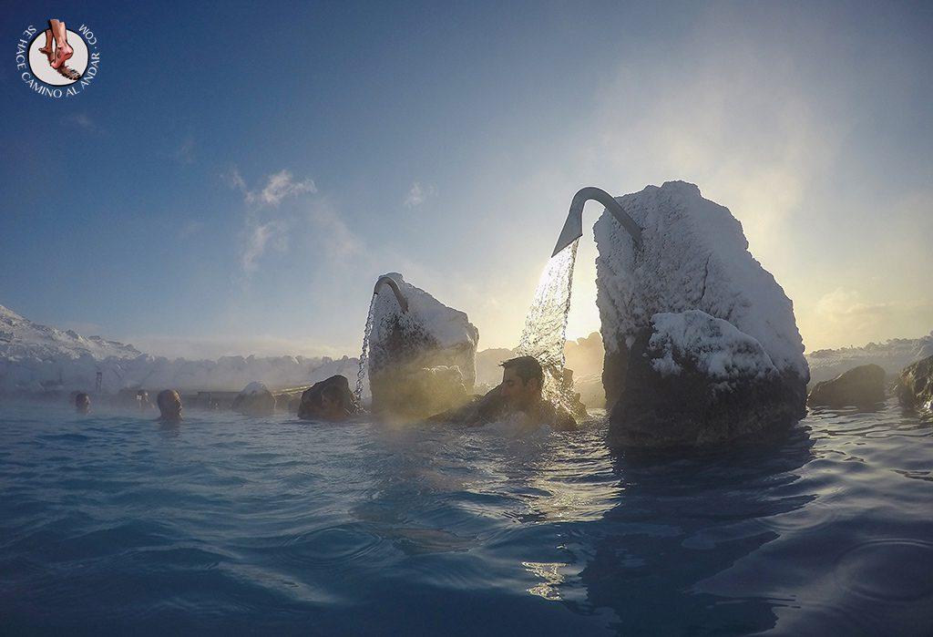 Myvatn Nature Baths chorro