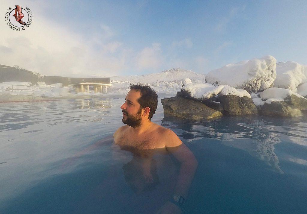 Myvatn Nature Baths nieve