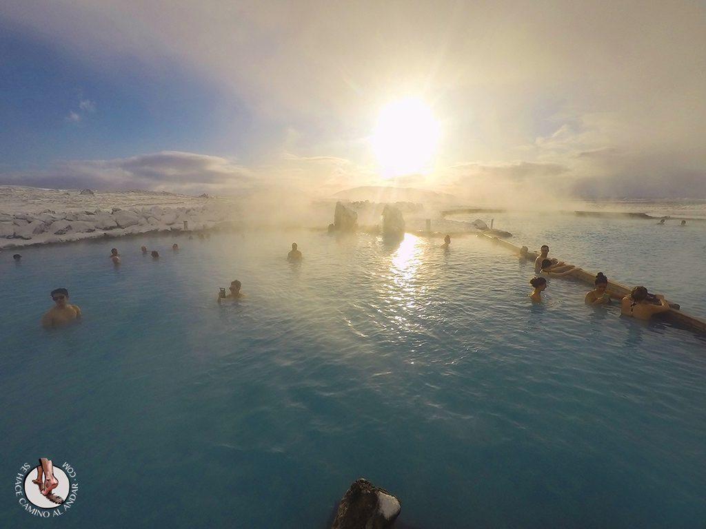 SPA geotermal Myvatn Nature Baths piscina