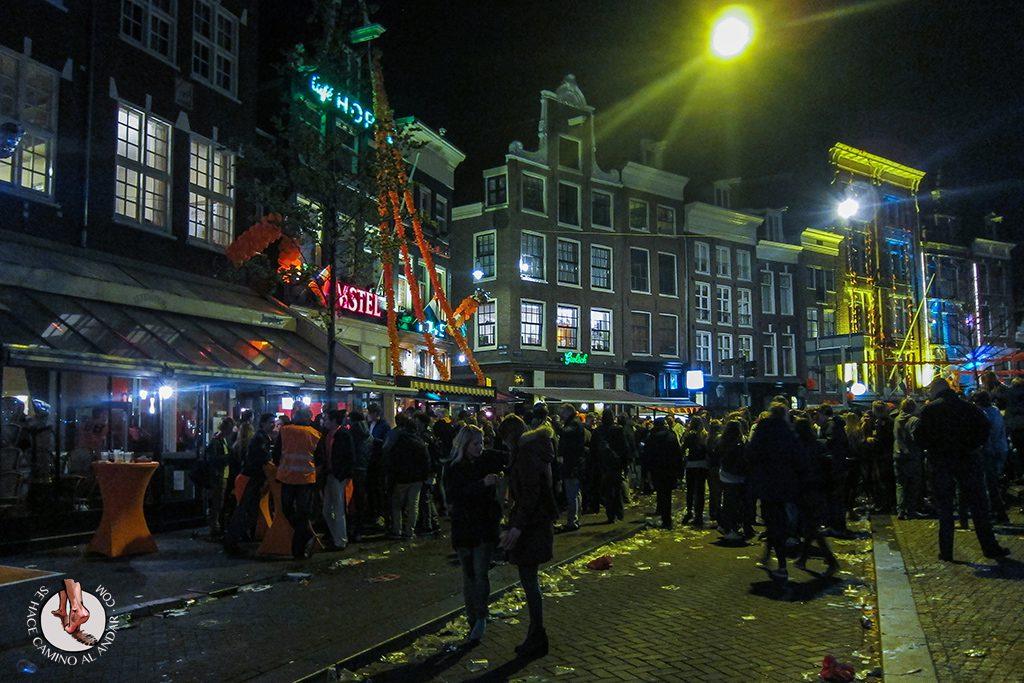 Noche de la reina Amsterdam