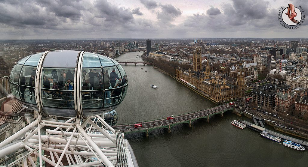 Noria London Eye mirador ver Londres