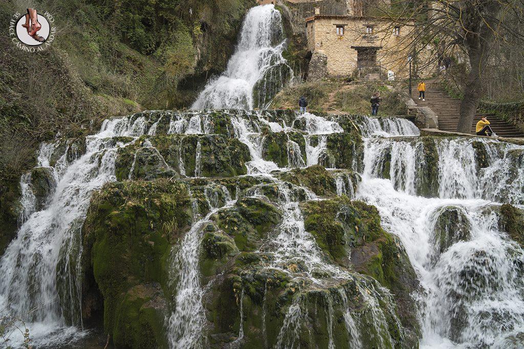 Orbaneja del Castillo cascada cauce