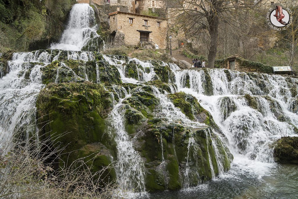 Orbaneja del Castillo cascada lateral