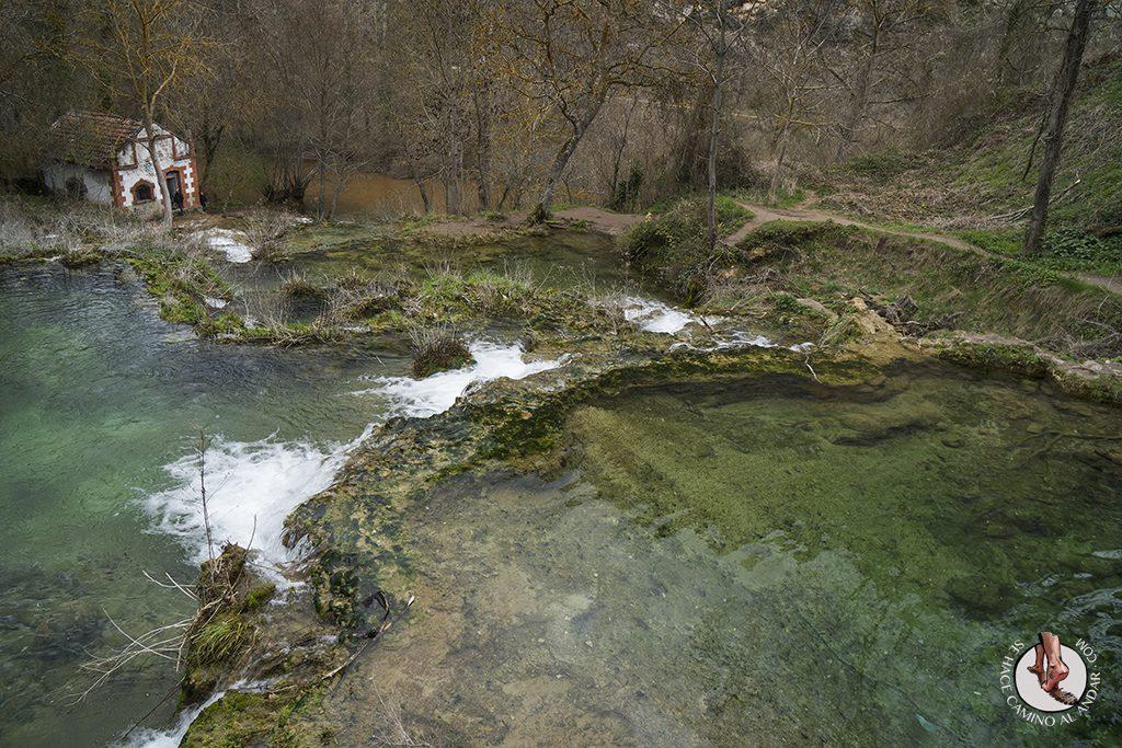 Orbaneja del Castillo rio Ebro
