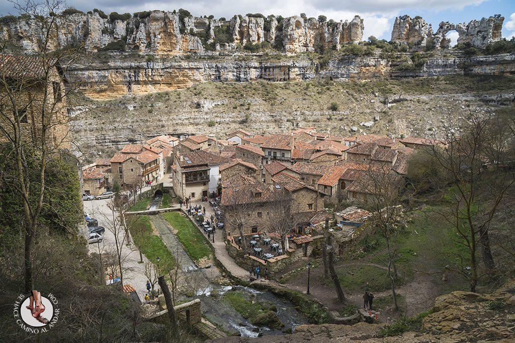 Orbaneja del Castillo vistas valle