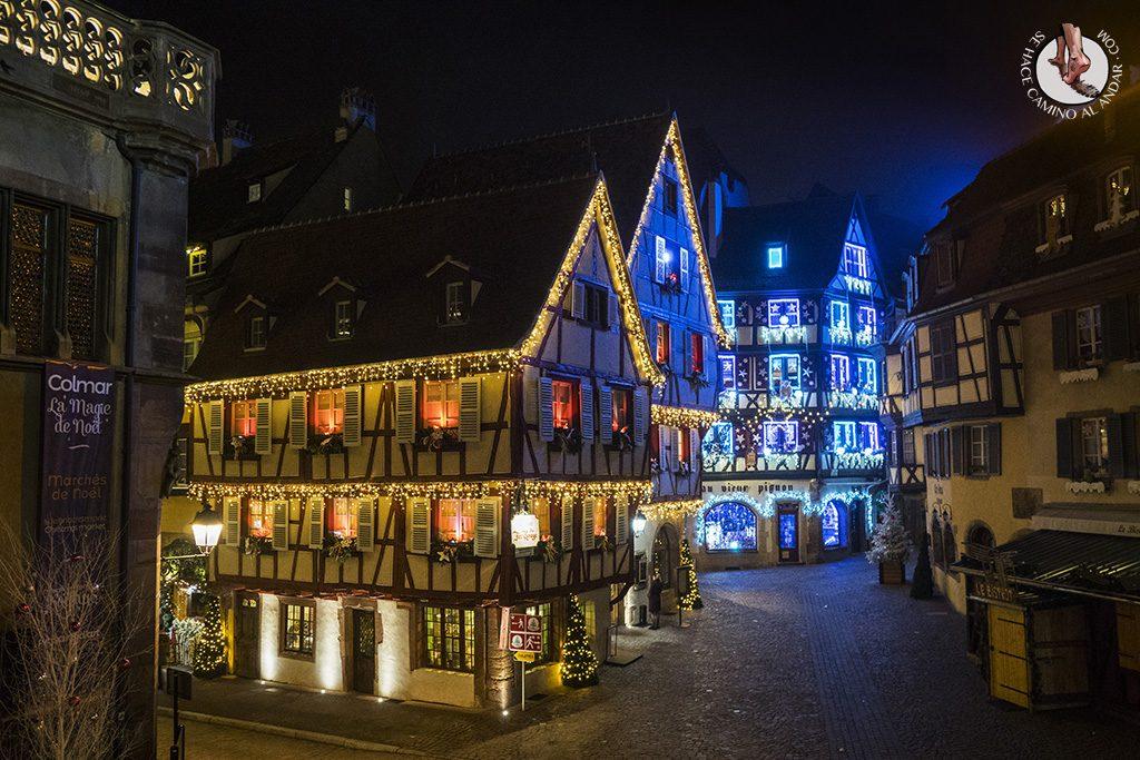 Organizar un viaje a Alsacia en Navidad Colmar vacio