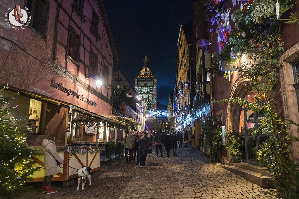 Organizar un viaje a Alsacia en Navidad Riquewihr