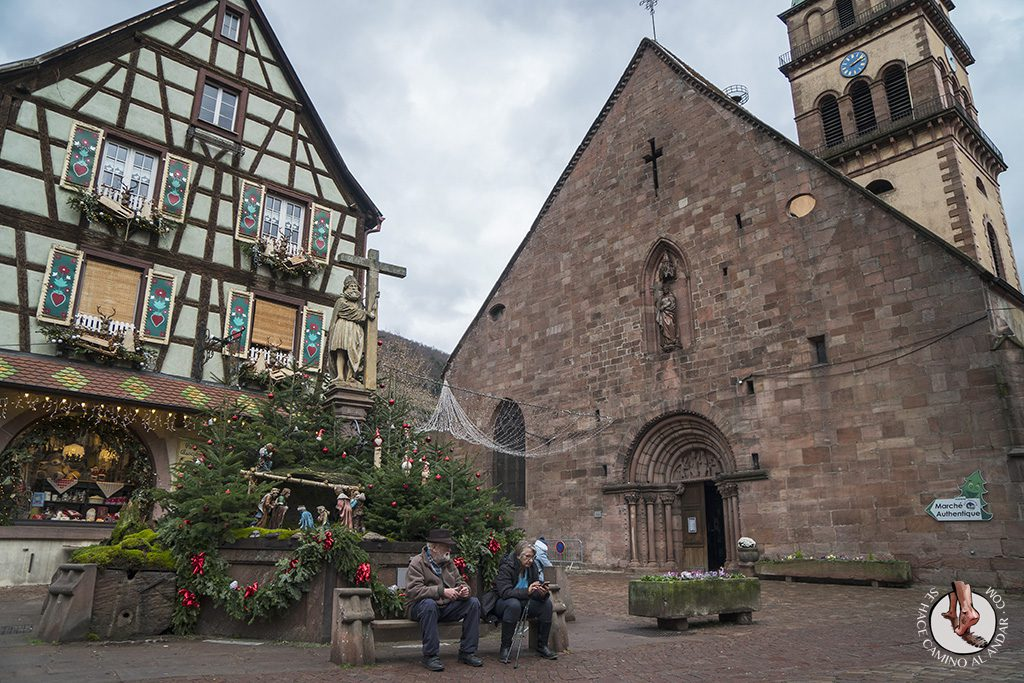 Organizar un viaje a Alsacia en Navidad kaysersberg iglesia