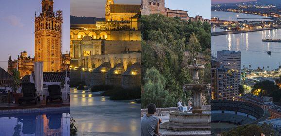 Organizar un viaje a Sevilla, Córdoba, Granada y Málaga