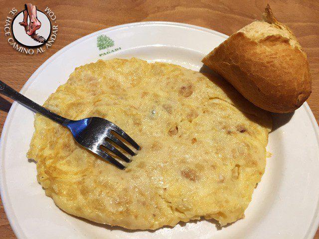 PAGADI - Tortilla de patata