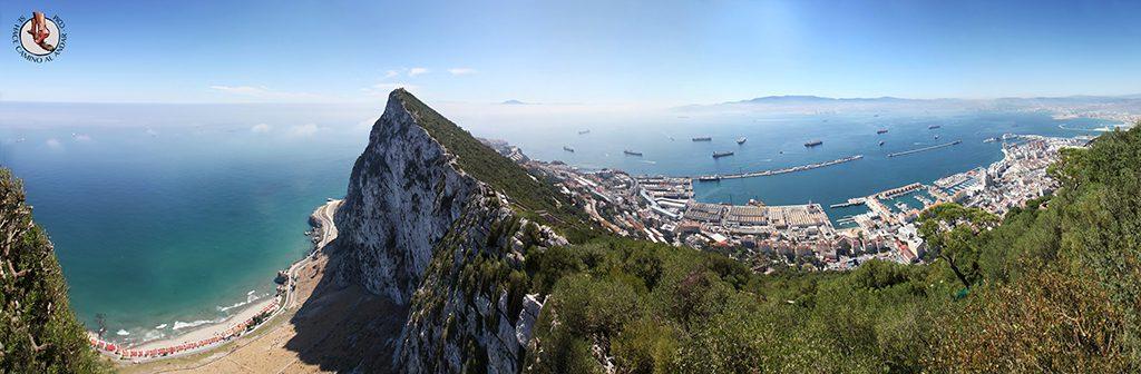 Panorámica peñón Gibraltar