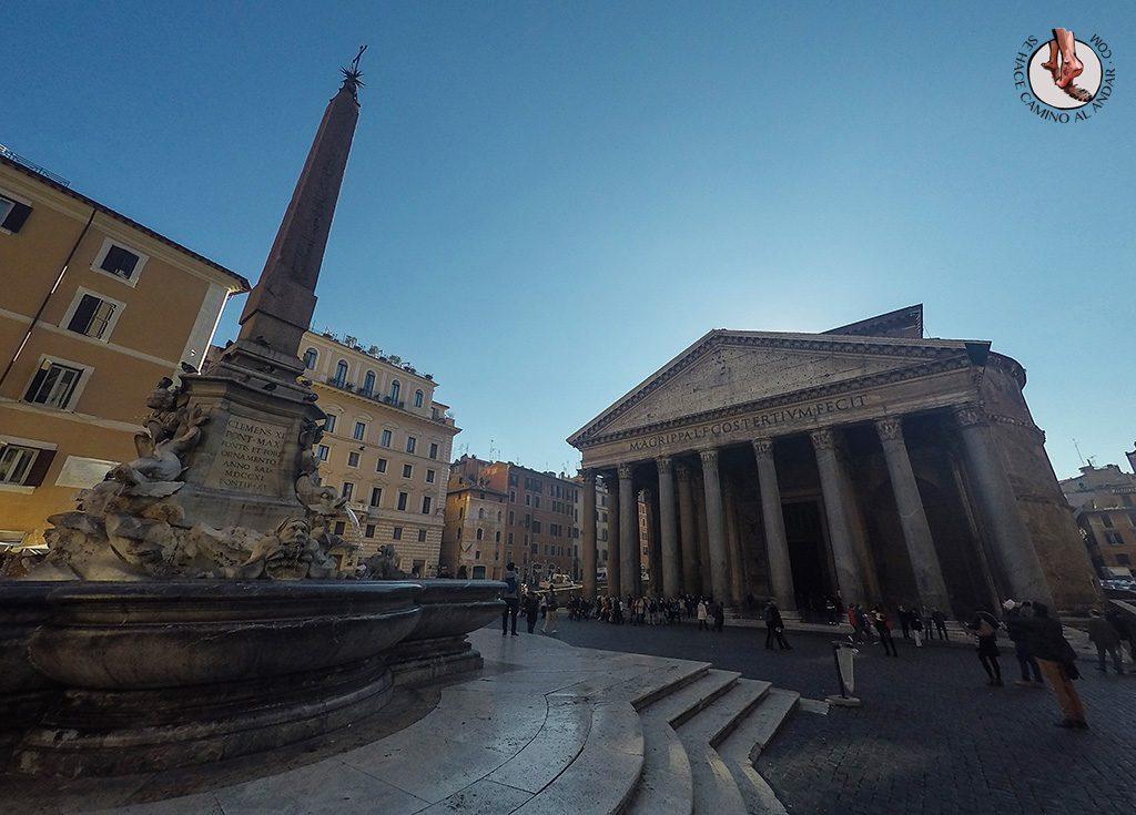 Panteón Fuente Roma