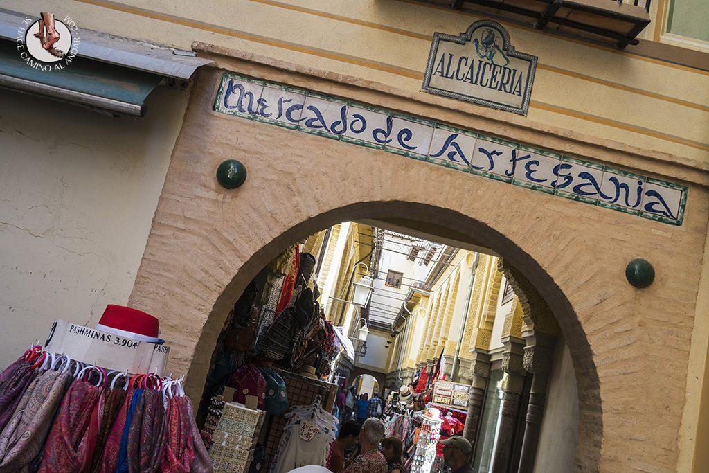 Paseo Alcaicería Granada