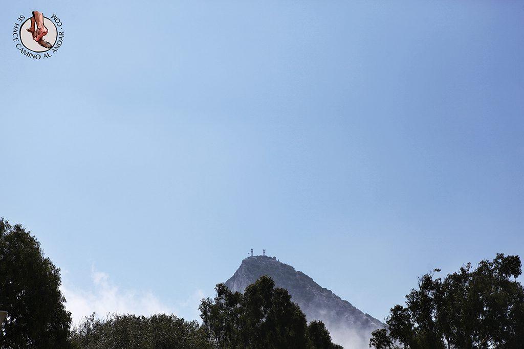 Penon niebla Gibraltar