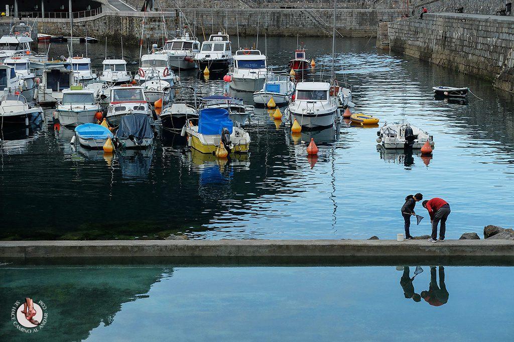 Pesca piscina Elantxobe