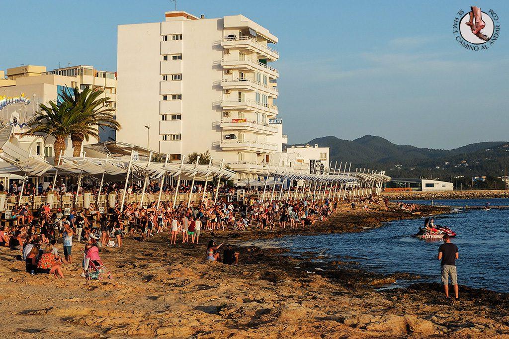Piedras Cafe del Mar Atardecer Ibiza