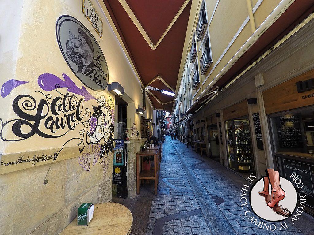 Pinchos de Logrono Calle Laurel