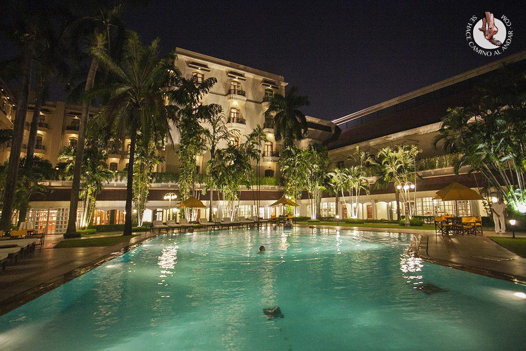 Piscina hotel Grand Oberoi Calcuta