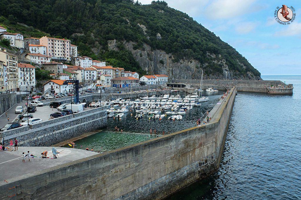 Piscina puerto Elantxobe
