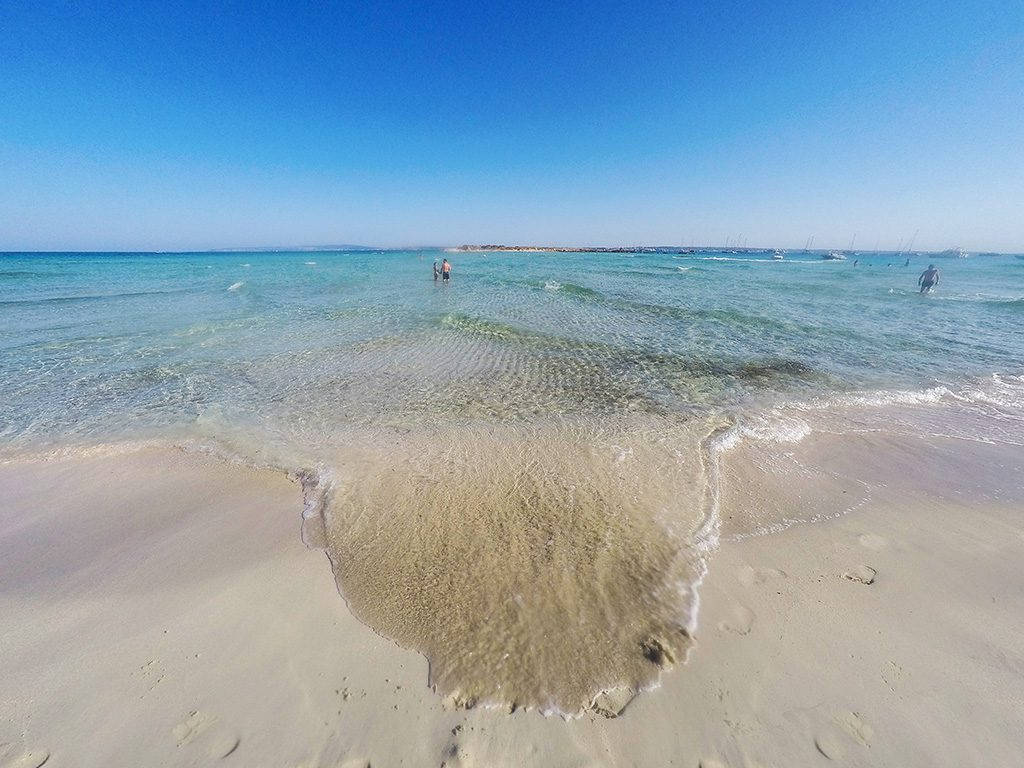 Playa Isla Espalmador