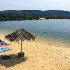 Playa de Cional, un oasis en el secarral de Zamora