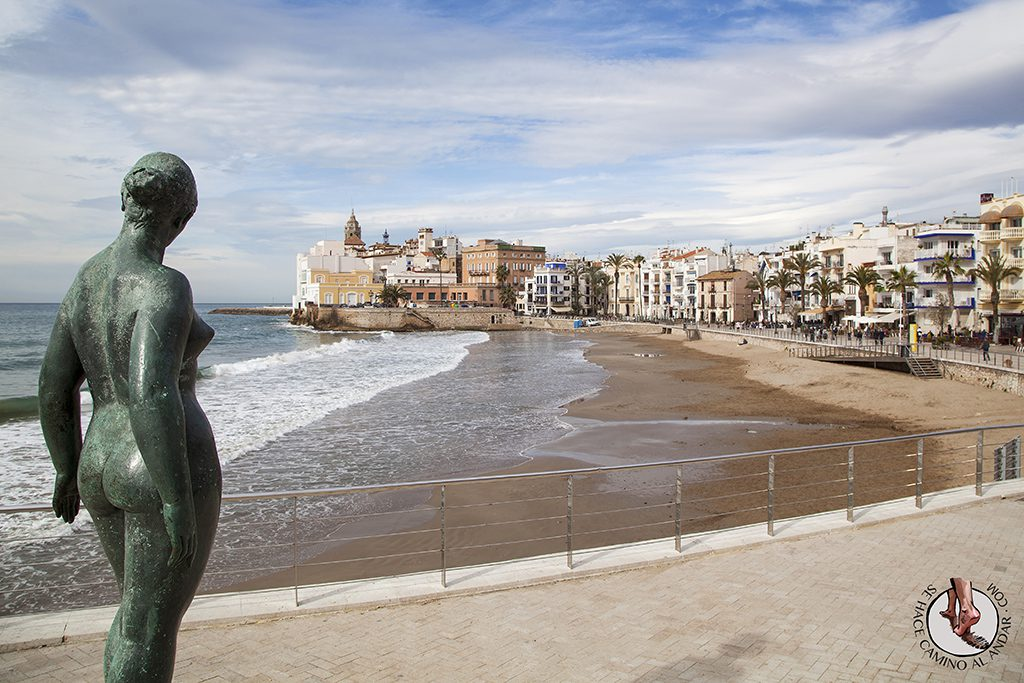 Playa de San Sebastian Sitges