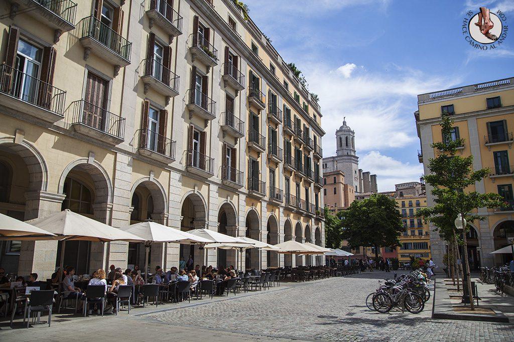 Plaza de la Independencia Girona