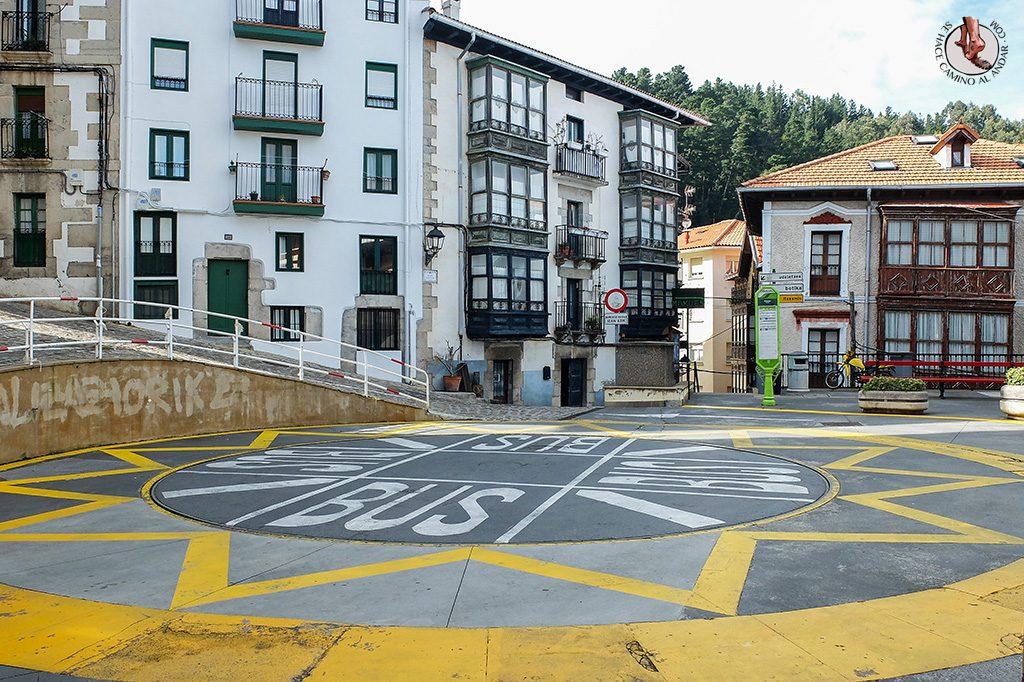 Plaza giratoria Elantxobe