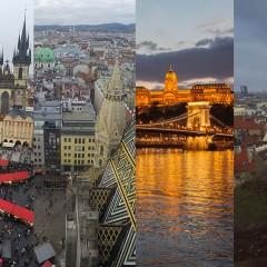 Organizar un viaje a Praga-Viena-Budapest (y Bratislava)
