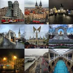Praga, Viena, Budapest y Bratislava desde mi Instagram