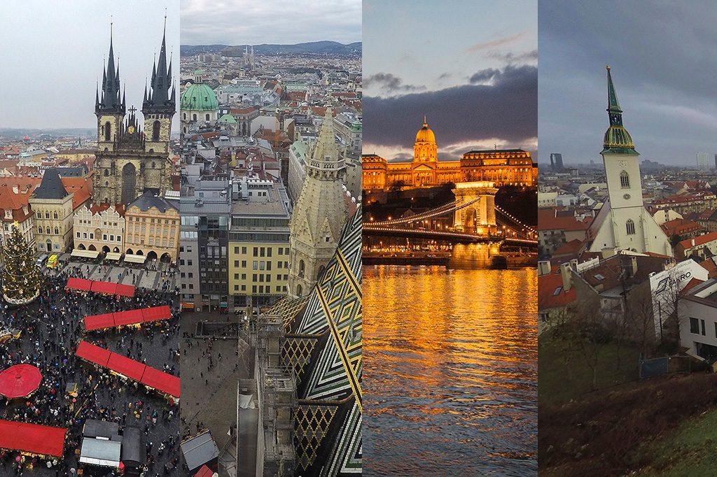 Praga-Viena-Budapest-Bratislava