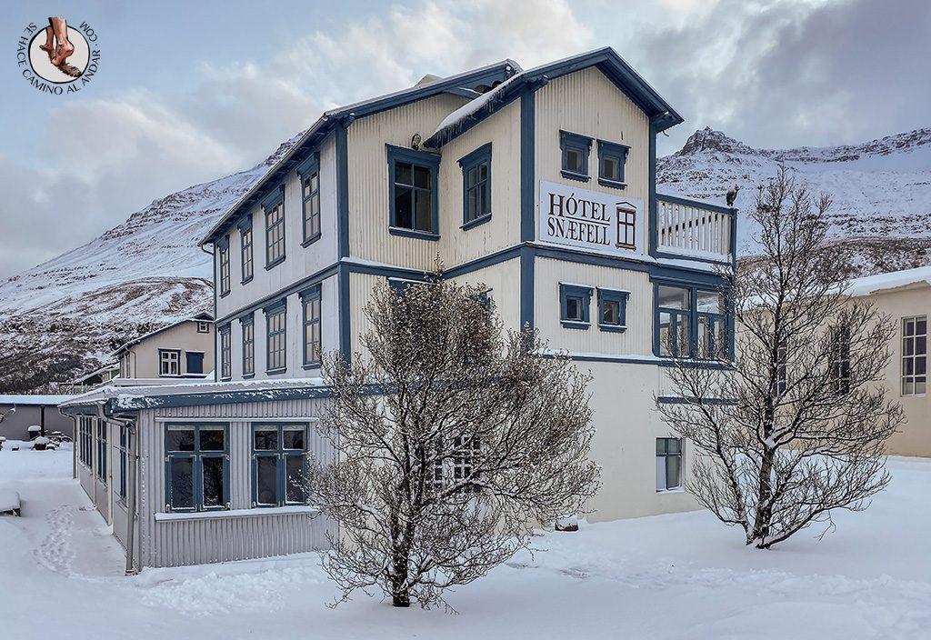 Presupuesto Islandia Hotel Snæfell exterior