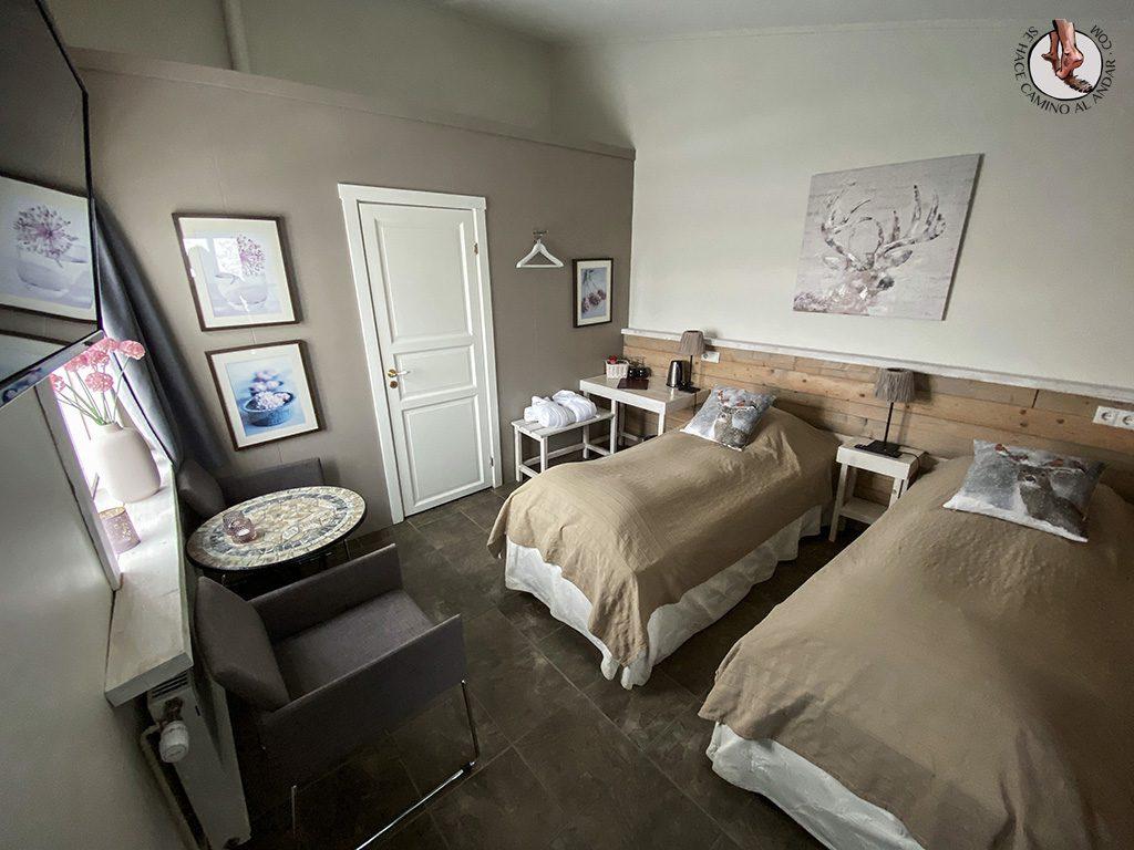 Presupuesto Islandia Hraunsnef Country Hotel habitacion