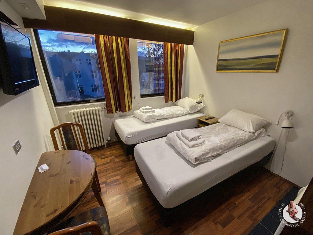Presupuesto Islandia Reykjavik Downtown Hotel habitacion