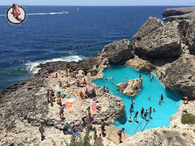 Problemas con la piscina natural de Mallorca 1