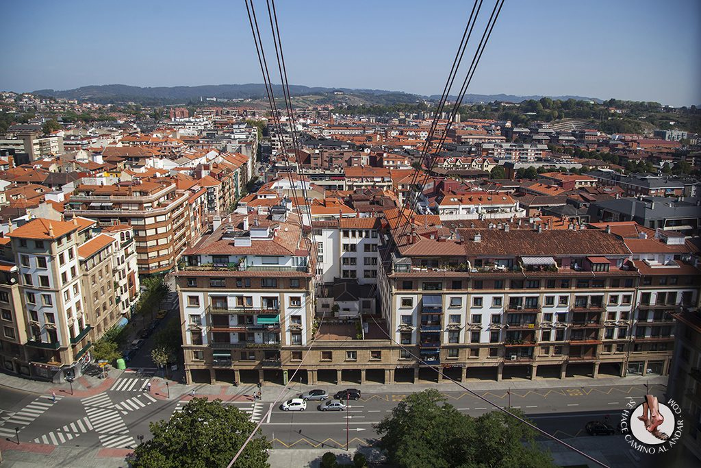 Pueblos mas bonitos de Euskadi Getxo vistas puente Bizkaia