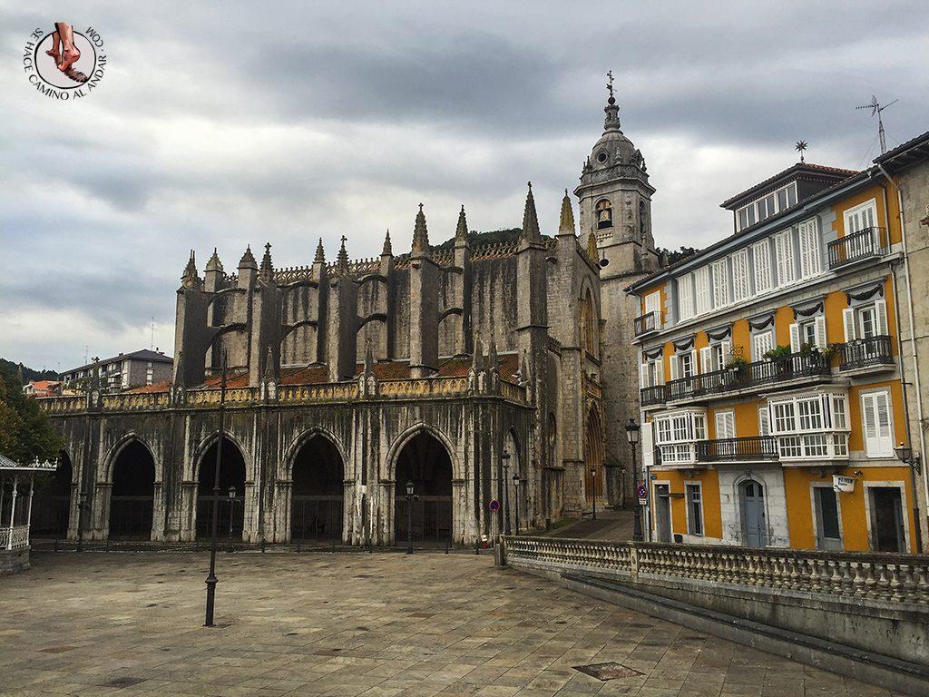 Pueblos mas bonitos de Euskadi Lekeitio basilica