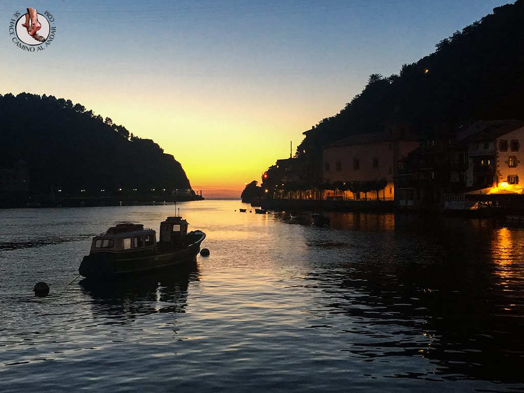 Pueblos mas bonitos de Euskadi Pasajes atardecer