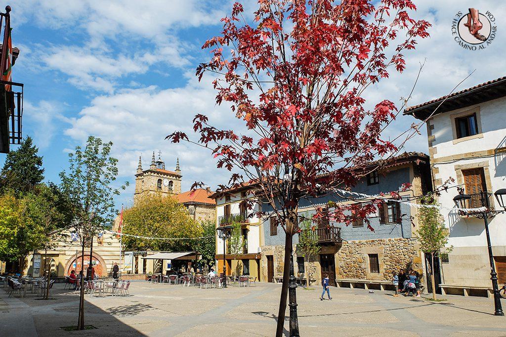 Pueblos mas bonitos de Euskadi Segura plaza
