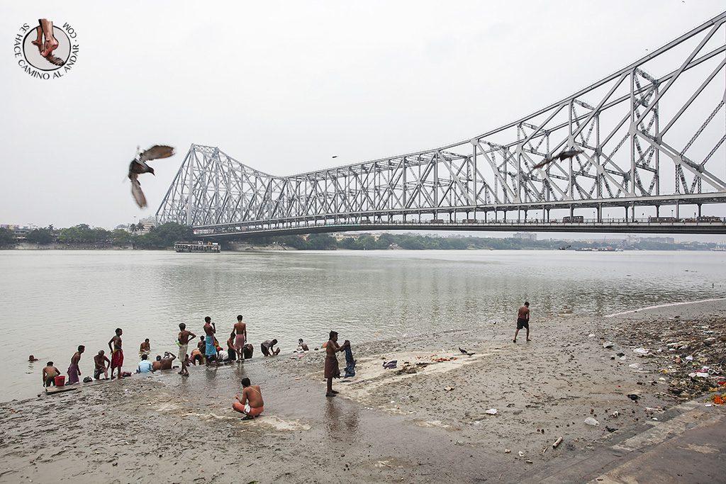 Puente Howrah de Calcuta