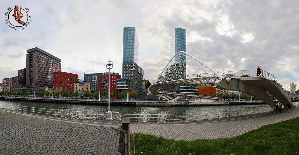 Puente Zubi zuri Bilbao