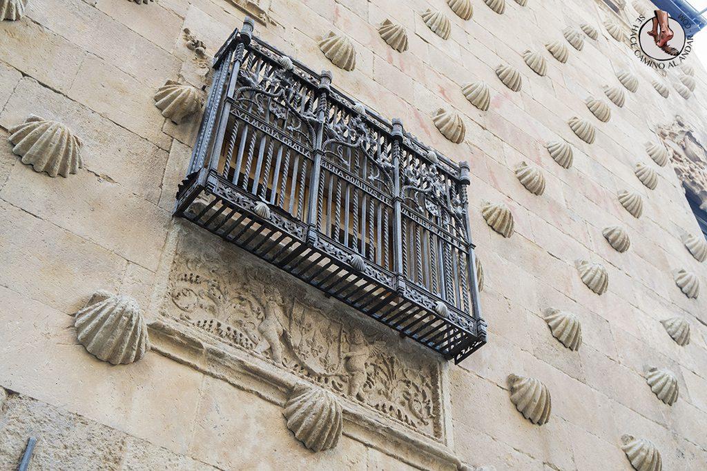 Que ver en Salamanca Casa de las Conchas patio